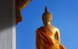 Immagine dorata di Buddha Fotografia Stock