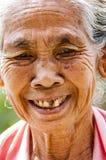 Immagine editoriale documentaria Ritratto dell'agricoltore anziano di balinese Fotografia Stock Libera da Diritti