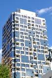 Immagine editoriale indicativa - costruzione di appartamento Immagini Stock Libere da Diritti