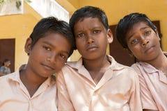 Immagine editoriale indicativa, ritratti degli studenti della scuola Immagine Stock