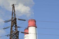 Immagine energetica industriale Fotografie Stock