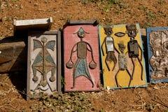 Immagine fatta con riciclato, l'Africa Fotografia Stock
