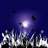 Immagine floreale illustrazione vettoriale