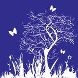 Immagine floreale di stile illustrazione vettoriale