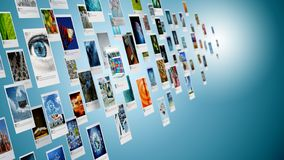 Immagine, foto o immagine dividente concetto su Internet immagini stock libere da diritti