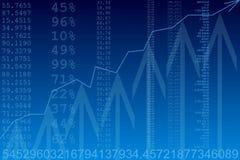 Immagine generata da calcolatore. Statistiche d'impresa Immagini Stock