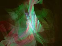 Immagine generata da computer di frattale con l'astrazione Immagine Stock