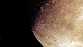 Immagine generata procedurale di Marte Fotografia Stock Libera da Diritti