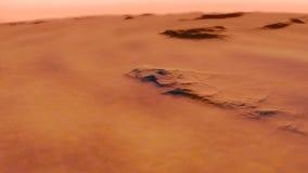 Immagine generata procedurale di Marte Immagine Stock
