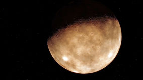 Immagine generata procedurale di Marte Fotografie Stock Libere da Diritti