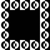 Immagine geometrica, struttura della foto nel formato squarish illustrazione di stock
