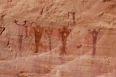 Immagine grafica del canyon della barriera Fotografia Stock Libera da Diritti