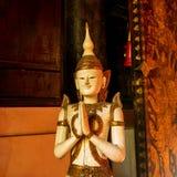 Immagine Graven in Wat Phra Sing, Chiang Mai, Tailandia fotografia stock libera da diritti