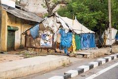 Immagine indicativa editoriale Casa colorata indiano Immagini Stock Libere da Diritti