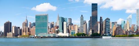 Immagine panoramica del Midtown New York Fotografia Stock