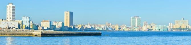 Immagine panoramica dell'orizzonte di Avana Fotografia Stock