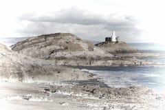 Immagine pastello dei Mumbles, Galles Immagine Stock