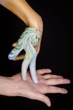 Immagine piacevole del cavallo. Fotografie Stock Libere da Diritti