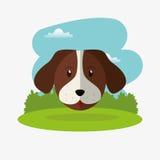 immagine relativa delle icone degli animali domestici Immagini Stock