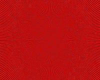 Immagine rossa radiale astratta, fondo Fotografia Stock