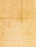Immagine senza cuciture chiusa di vecchio foglio di carta ingiallito con i punti scuri e un facsimile dell'iscrizione Fotografie Stock Libere da Diritti