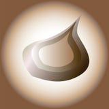 Immagine stilizzata di vettore della cipolla illustrazione vettoriale
