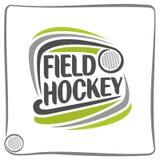 Immagine sul tema del hockey su prato Immagine Stock