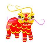 Immagine tradizionale cinese dell'illustrazione animale colourful di vettore illustrazione di stock