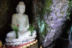 Immagine unica di Buddha nel Myanmar immagine stock libera da diritti