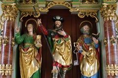 Immagine variopinta di James il maggior in svizzeri Camino Fotografia Stock Libera da Diritti