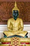 Immagine verde smeraldo di Buddha Fotografia Stock Libera da Diritti