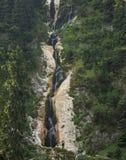 Immagine verticale di alta cascata Fotografia Stock