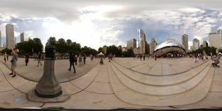 immagine 360vr del portone della nuvola Immagine Stock Libera da Diritti