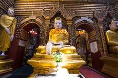 Immagini antiche del Buddha fotografia stock