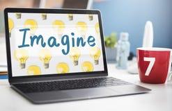 Immagini concetto di sogno di creatività di ispirazione della visione il grande fotografia stock