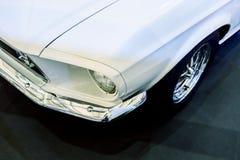 Immagini d'annata automobilistiche classiche d'annata di stile della lampada del faro Immagine Stock