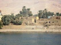 Immagini da una crociera sul Nilo Fotografia Stock