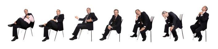 Immagini dell'uomo d'affari Fotografie Stock