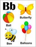 Immagini della lettera B di alfabeto royalty illustrazione gratis