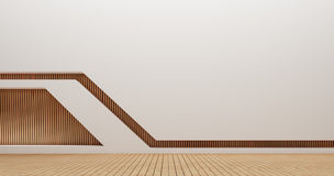 Immagini della rappresentazione della parete 3d di interior design Fotografia Stock Libera da Diritti