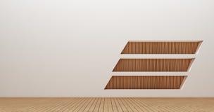 Immagini della rappresentazione della parete 3d di interior design Immagini Stock
