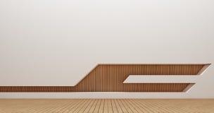 Immagini della rappresentazione della parete 3d di interior design Immagine Stock Libera da Diritti