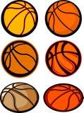 Immagini della sfera di pallacanestro Fotografie Stock