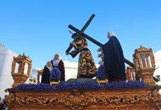 Immagini delle processioni di Pasqua immagini stock