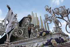 Immagini delle processioni di Pasqua fotografia stock libera da diritti