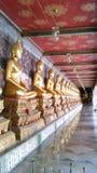 Immagini di Buddha a Wat Suthat Fotografia Stock