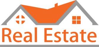 Immagini di logo e del bene immobile Immagine Stock