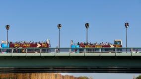 Immagini di Parigi mentre camminando lungo il fiume la Senna immagine stock libera da diritti