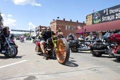 Immagini di raduno il Dakota del Sud di sturgis Fotografia Stock