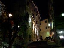 Immagini di sera di Gubbio Immagini Stock Libere da Diritti